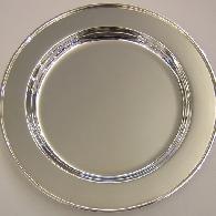 Silberner Teller, Silber ..