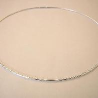Omega-Collier Silber