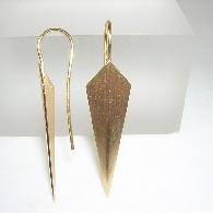 Ohrhänger Gelbgold
