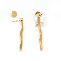 Brillant-Stecker Gelbgold