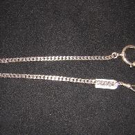 Taschenuhrkette Silber