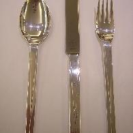 Besteck-Set Silber